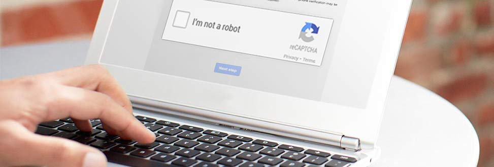 Google reCAPTCHA in action